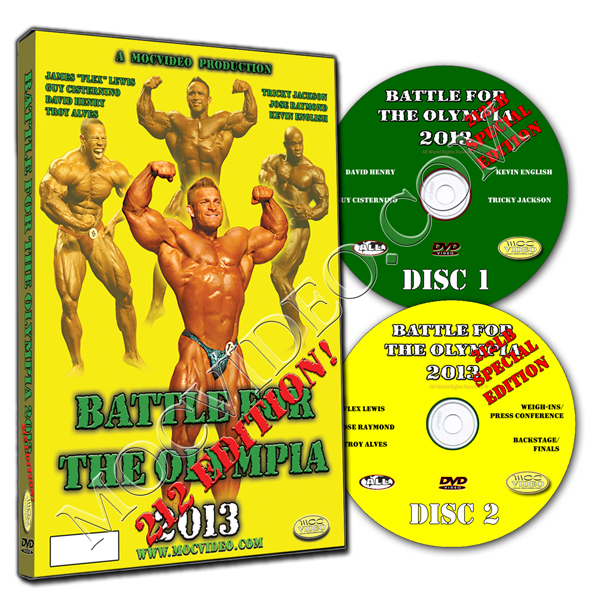 Battle For The Olympia 2013 - 212lb Class DVD