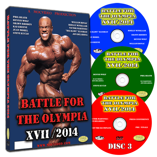 BATTLE FOR THE OLYMPIA 2014 OPEN CLASS