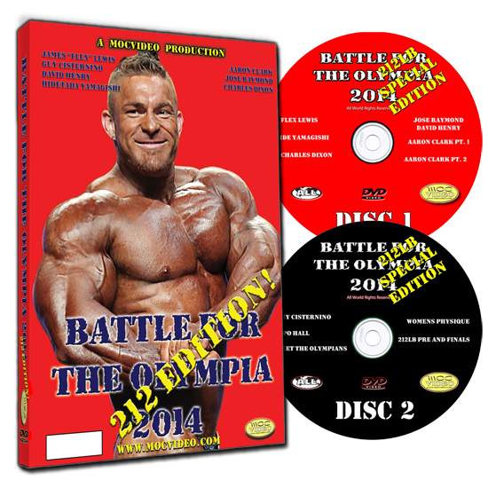 battle for the olympia 2014, 212 division.