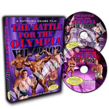 Battle for the Olympia 2002 DVD