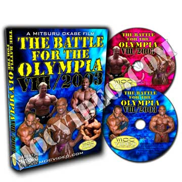 Battle for the Olympia 2003 DVD