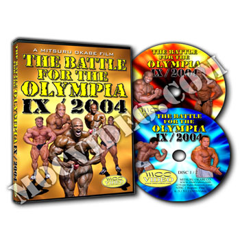 Battle for the Olympia 2004 DVD