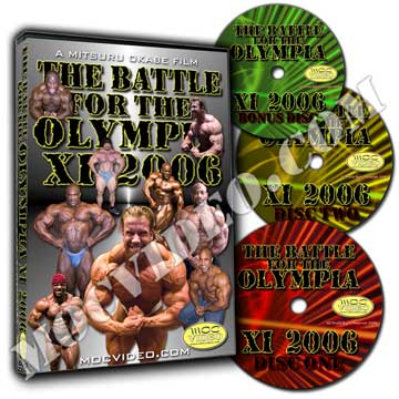 Battle for the Olympia 2006 DVD