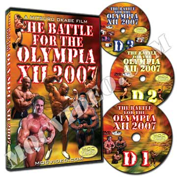 Battle for the Olympia 2007 DVD