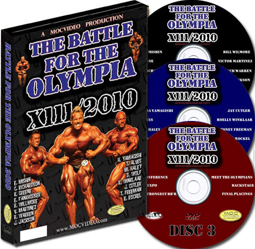 Battle For The Olympia 2010 3 Disc DVD
