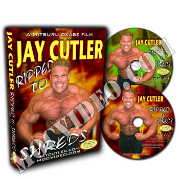 Jay Cutler Ripped to Shreds DVD