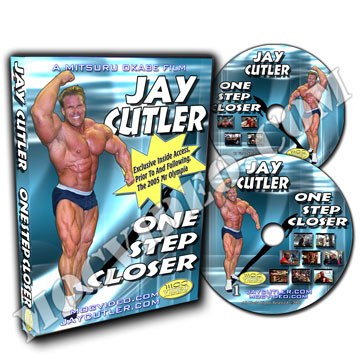 Jay Cutler One Step Closer DVD