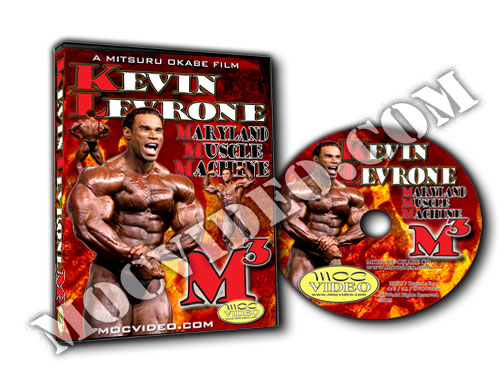 Kevin Levrone Maryland Muscle Machine (M3) DVD