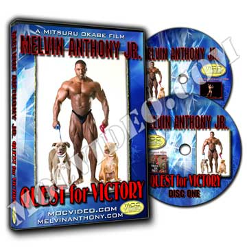 Melvin Anthony Jr. / QUEST for VICTORY DVD