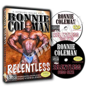 Ronnie Coleman / Relentless DVD