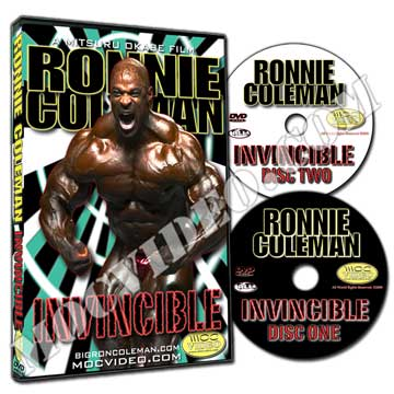 Ronnie Coleman / Invincible DVD