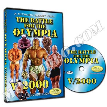 Battle for the Olympia 2000 DVD