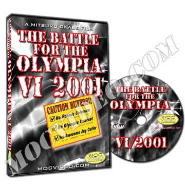 Battle for the Olympia 2001 DVD