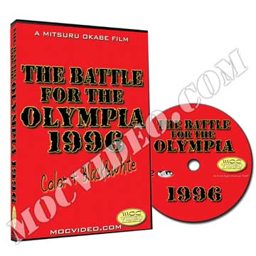 Battle for the Olympia 1996 DVD