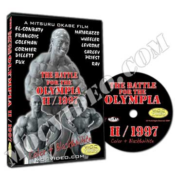 Battle for the Olympia 1997 DVD