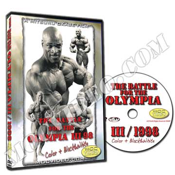 Battle for the Olympia 1998 DVD