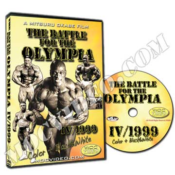 Battle for the Olympia 1999 DVD