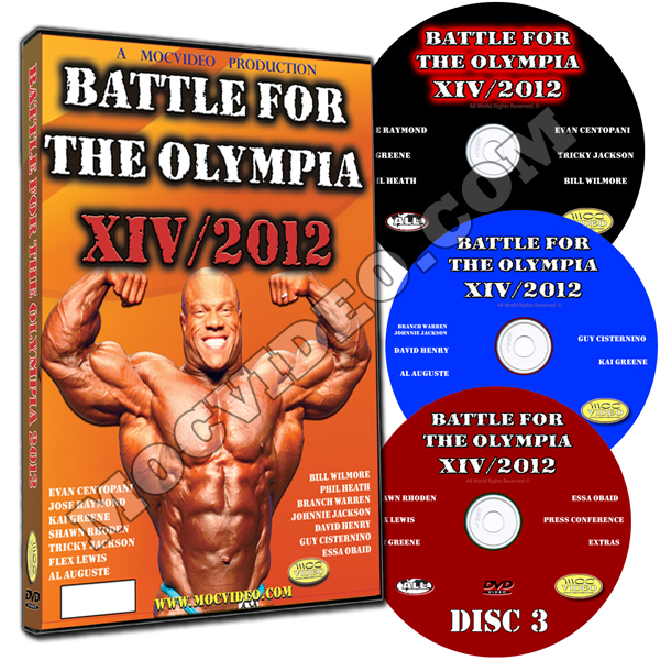 2012 Battle for the Olympia DVD