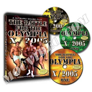 Battle for the Olympia 2005 DVD