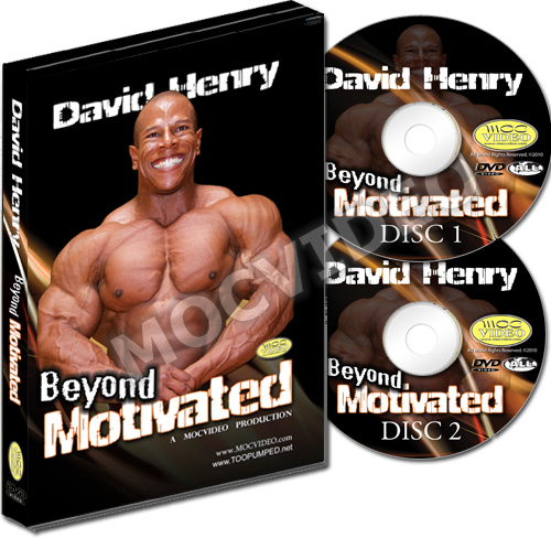 David Henry Beyond Motivated 2 Disc DVD