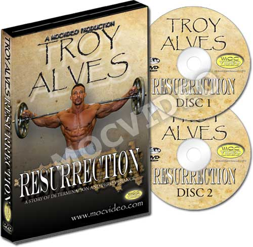 Troy Alves Resurrection DVD
