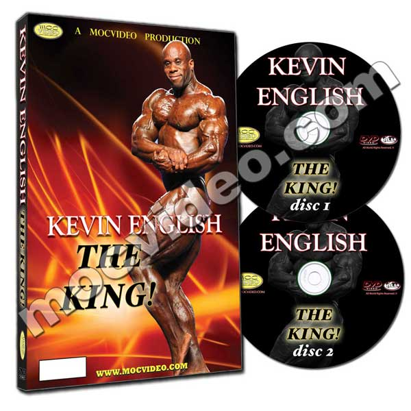 Kevin English The King DVD
